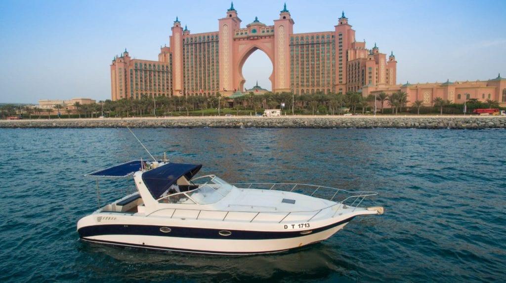 to charter a yacht dubai